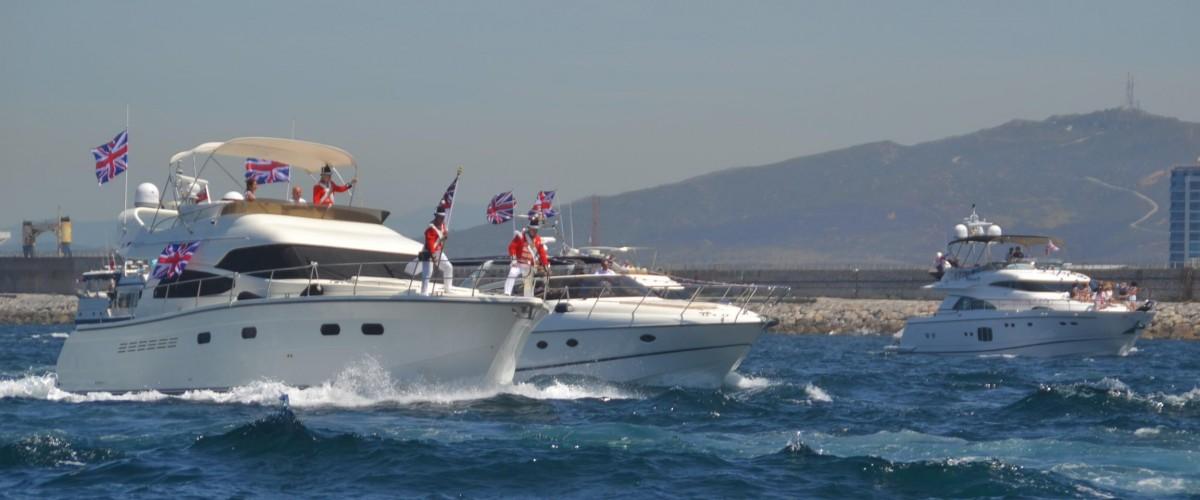 Queens Diamond Jubilee Flotilla Gibraltar 4
