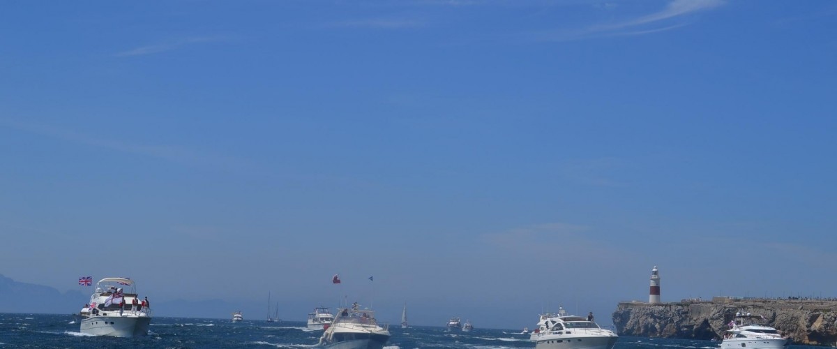 Queens Diamond Jubilee Flotilla Gibraltar 3