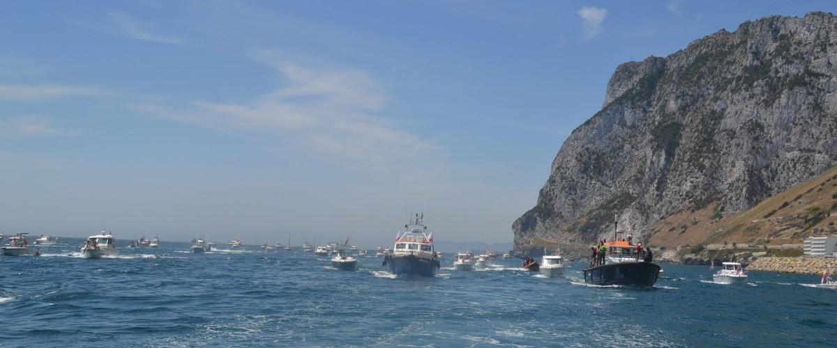Queens Diamond Jubilee Flotilla Gibraltar 2