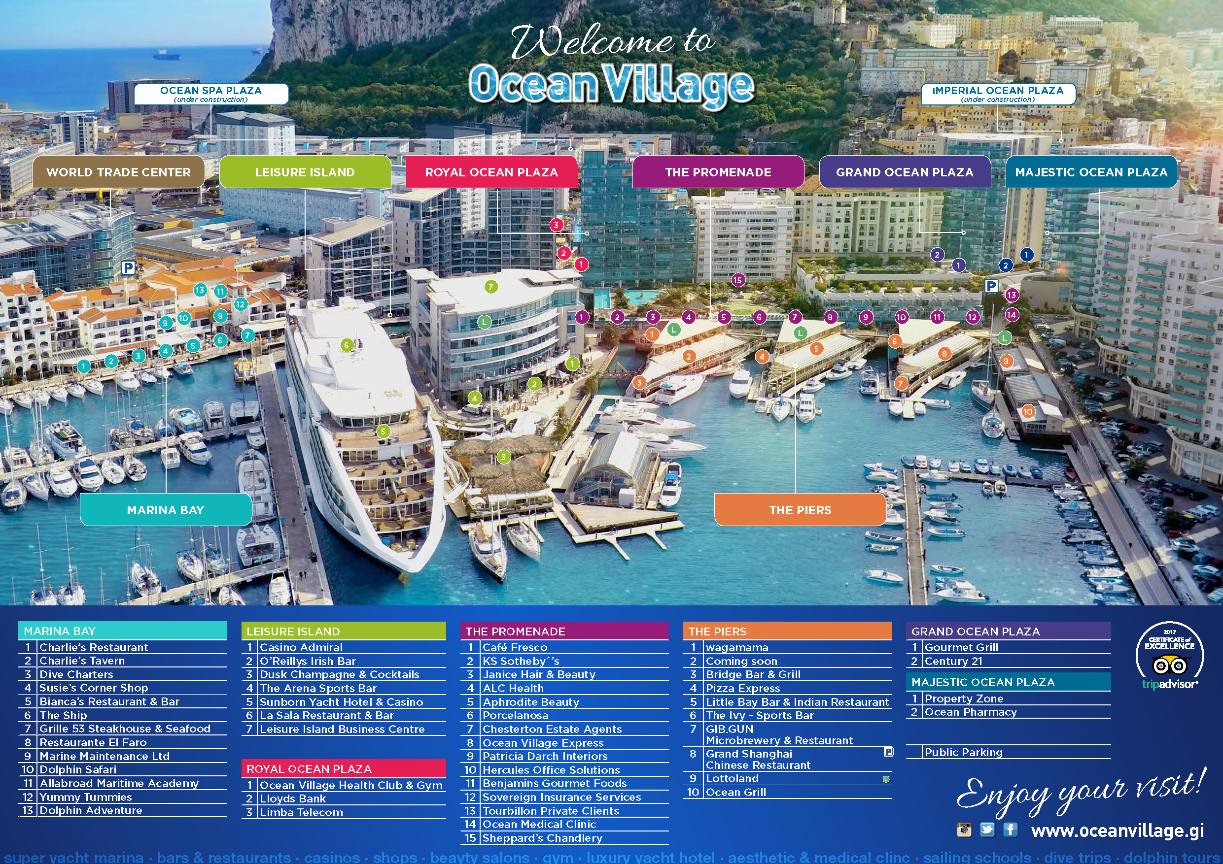 Click here to download Ocean Village Guide Map