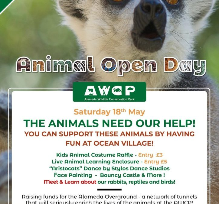 ANIMAL OPEN DAY IN AID OF THE ALAMEDA WILDLIFE PARK