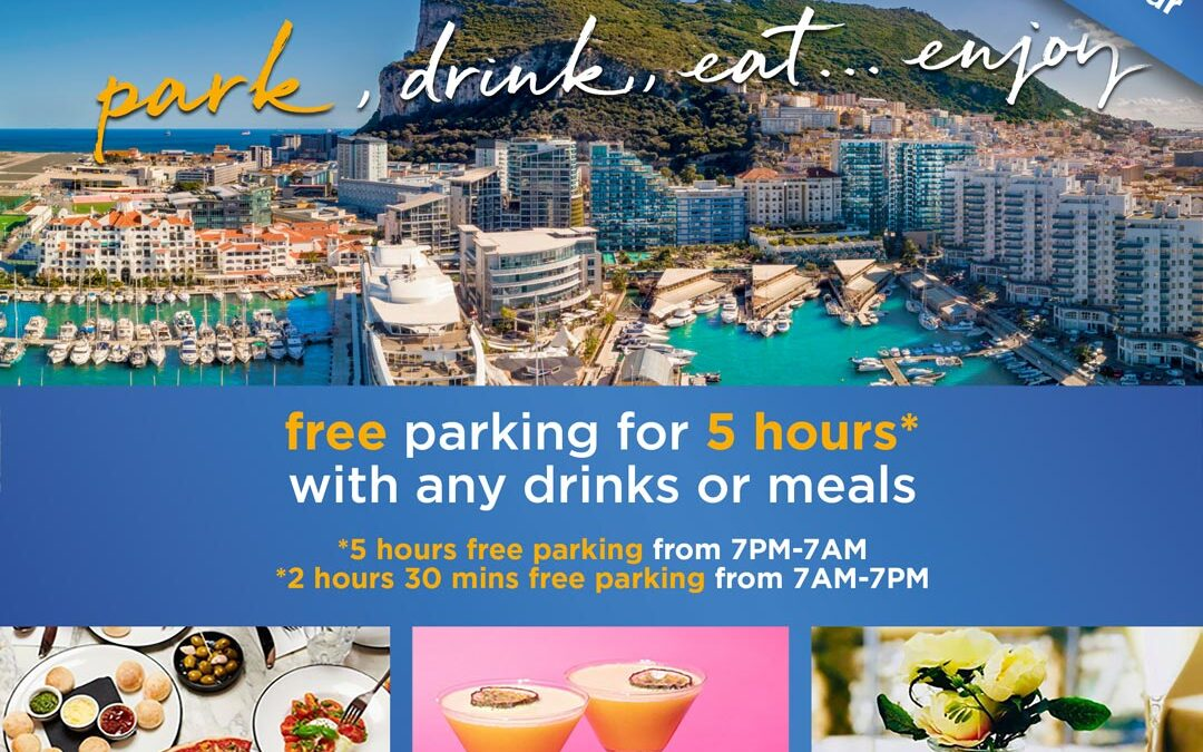 5 hours free parking